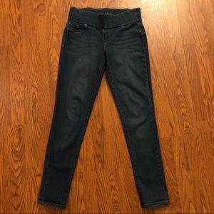 Liverpool Dark Wash Sienna Pull-On Legging Jeans